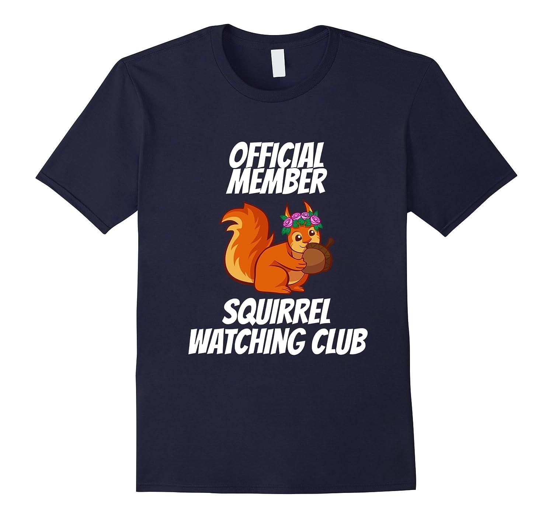 Official Member Squirrel Watching Club Tee Shirt-CD
