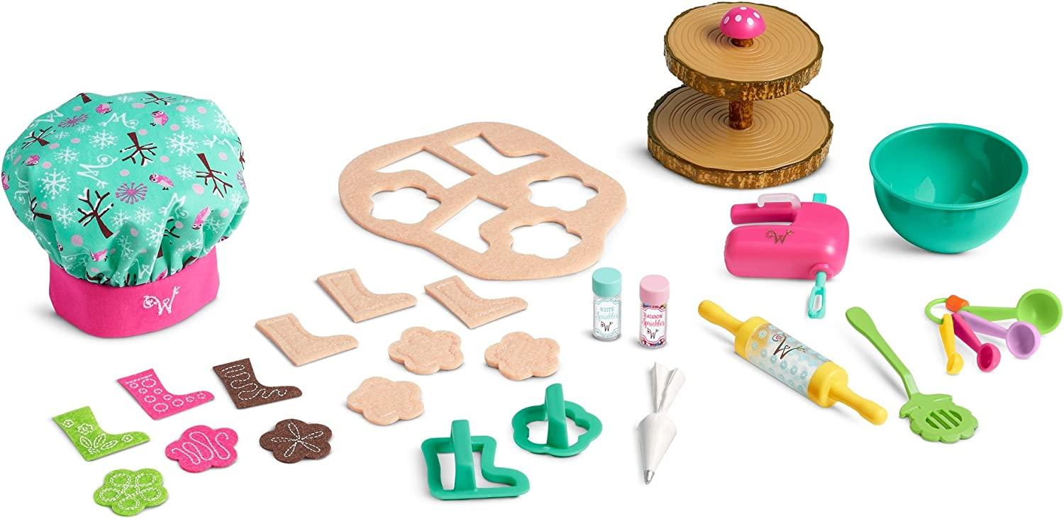 American Girl Welliewishers Cookie Baking Set, Multi
