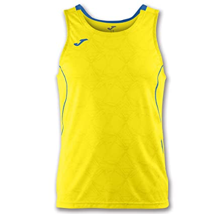 Joma Teamwear Tank Top Sleeveless Olimpia Yellow-Royal