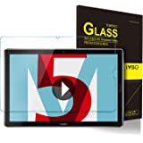 ELTD Huawei MediaPad M5 10.8/M5 Pro 10.8 Protector de Pantalla, 9H Dureza 2.5D Round Edge Vidrio Templado Protector de Pantalla para Huawei MediaPad M5 10.8/M5 Pro 10.8 Pulgadas 2018 Tablet, 1 Pack