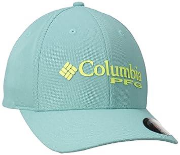 Columbia PFG Mesh Pique Gorra con Protección Solar 50, Hombre, Verde (Moxie/Dorado), S/M: Amazon.es: Deportes y aire libre