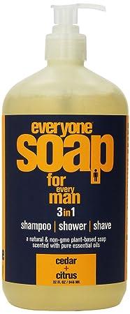 Everyone Soap Men Cedar Citrus EO 32 oz Liquid Pack of 2