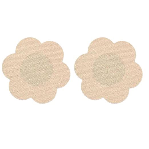 2873836ee6c Amazon.com  Breast Petals Nipple Cover Stickers  Clothing