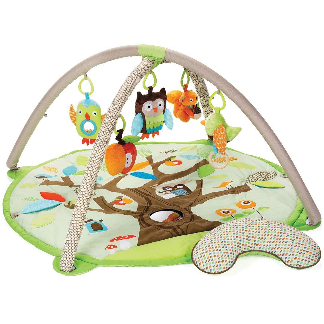 【海外輸入】 (スキップホップ) SKIP HOP ベビージム browngreen[307500] プレイマット プレイマット Treetop Friends Baby Gym Activity Gym (browngreen[307500]) B07PCM1CX9 browngreen[307500], キモツキグン:1acf4cb9 --- arianechie.dominiotemporario.com