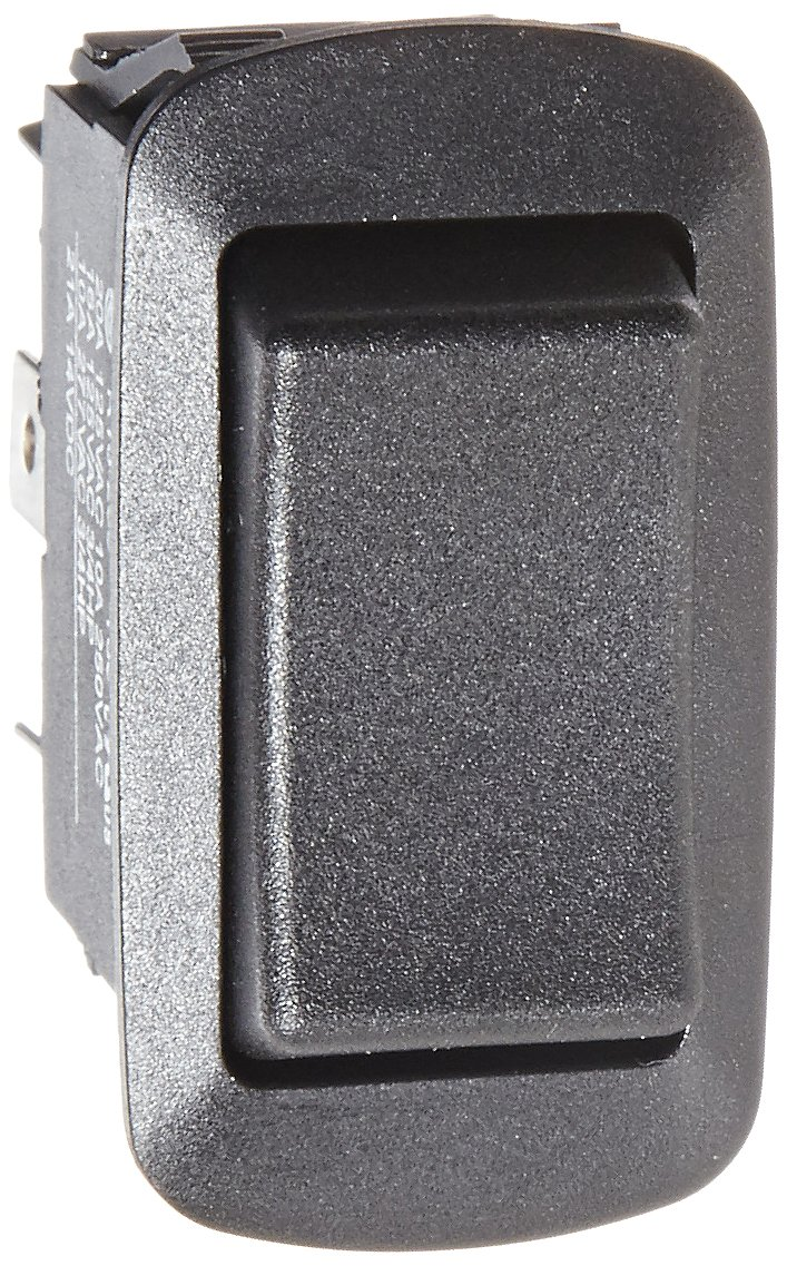 On Off-On Circut Function DPDT Black 0.75 Width 1.348 Height 0.762 Depth NSi Industries 77130RQ 0.762 Depth Rocker Switches 1.348 Height 0.75 Width 15//10 amps at 125//250 VAC