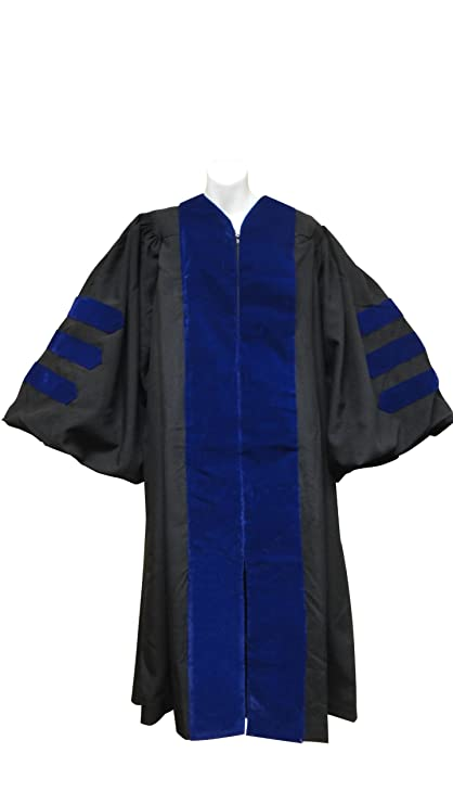 Amazon.com: Doctoral Gown only Columbia PHD: Everything Else