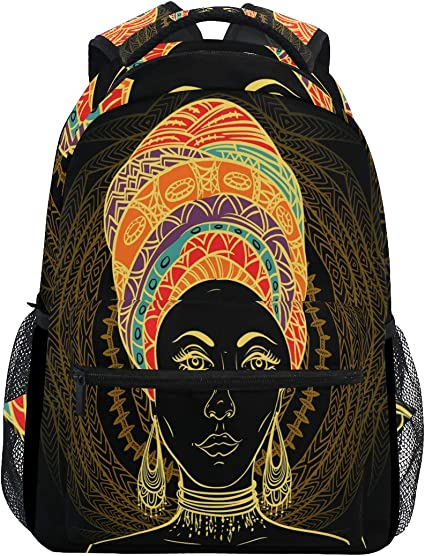 ALAZA Sea Life Cute Pattern School Backpack Book Bag Casual Daypack for Teens
