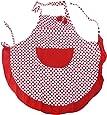 Pixnor Vintage Style Apron Shabby Chic Floral Polka Dot 1950's Ditsy Retro Sugarcraft