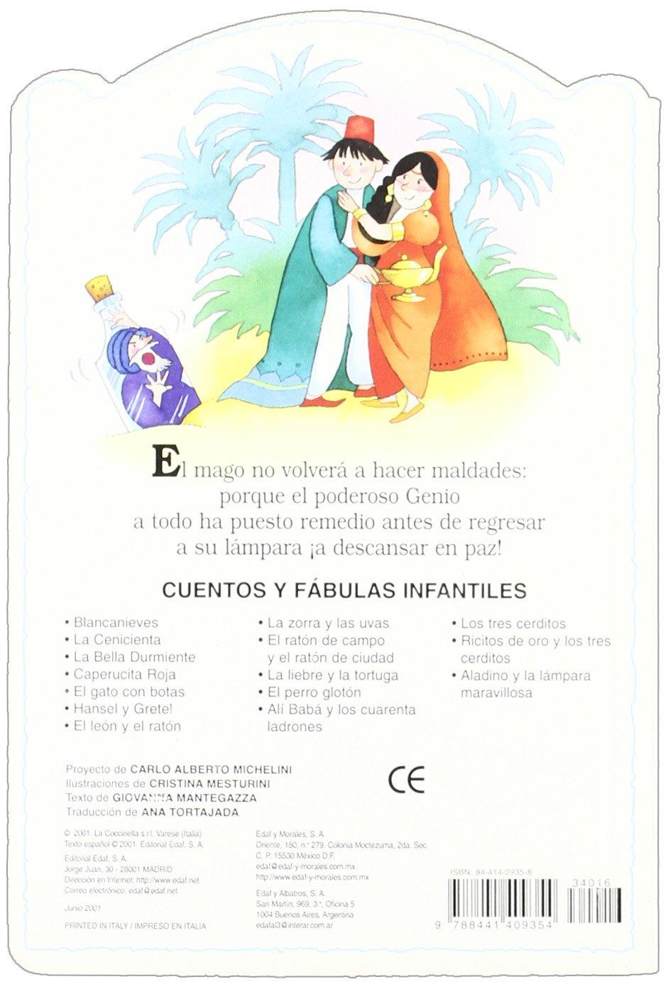 Aladino Y La Lampara Maravillosa (Cuentos y Fabulas Infantiles) (Spanish Edition): G. Mantegazza: 9788441409354: Amazon.com: Books