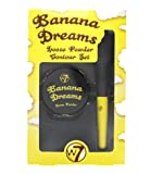 W7 Banana Dreams Loose Powder Contour Set with Brush