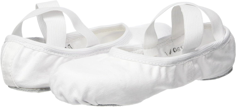 C Fit So Danca Girls Sd16 Wide Stretch Canvas Ballet Shoe