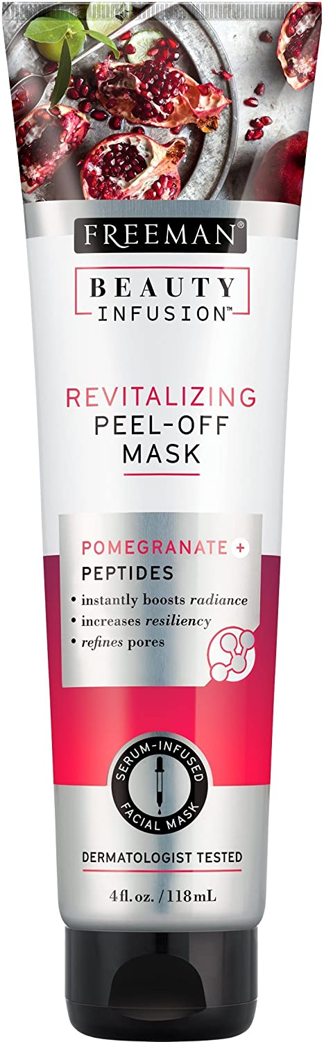 Beauty Infusion Revitalising Pomegranate and Peptides Peel-Off Mask Freeman Beauty 55607