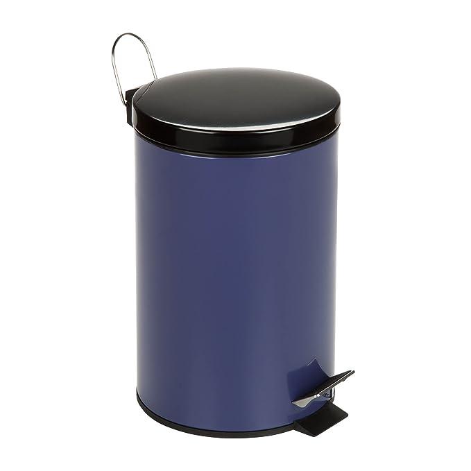 Amazon.com: Honey-Can-Do Papelera/cesto de basura de acero ...