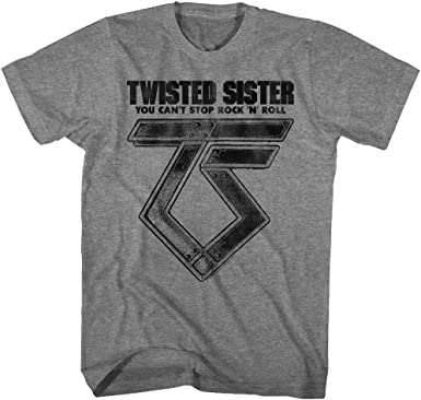 American Classics Twisted Sister Heavy Metal Band Cant Stop RocknRoll Camiseta para adulto: Amazon.es: Ropa y accesorios