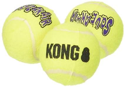 Pet Supplies Kong Air Squeaker Tennis Balls Small 6 Balls