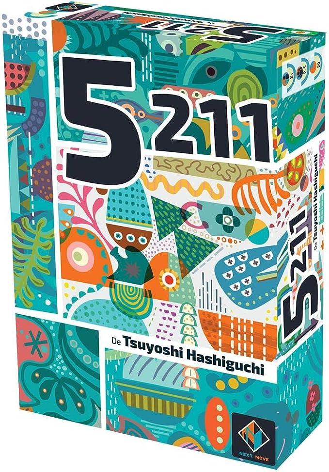 Asmodée-5211-Juego de Mesa-Español, Color (NMG60040ES): Amazon.es: Juguetes y juegos