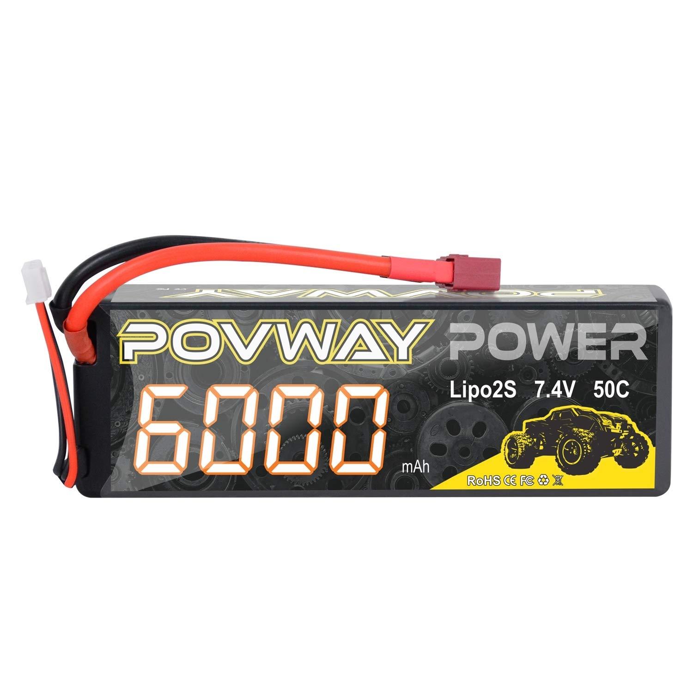 Bateria Lipo 7.4v 6000mah Rc Povway