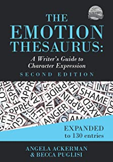 Amazon com: The Emotion Thesaurus: A Writer's Guide to
