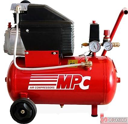 Compresor de aire 230v 2 cv 25 litros MPC ECO-225
