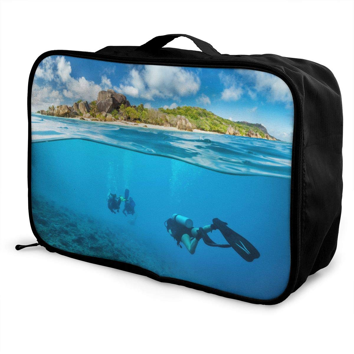 Travel Luggage Duffle Bag Lightweight Portable Handbag Diving Ocean Large Capacity Waterproof Foldable Storage Tote