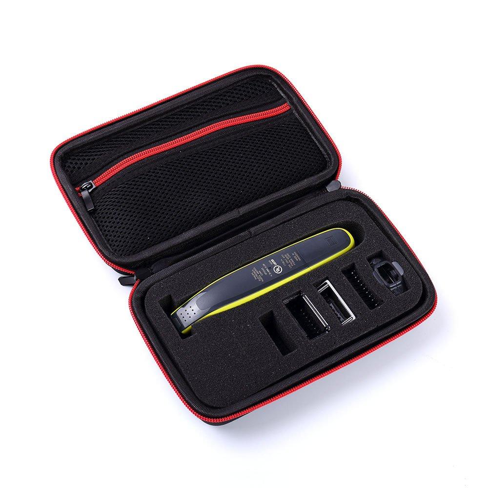 GUANHE Caso Funda para Philips OneBlade QP2520/30, QP2520/20,QP2530/20 Recortador de barba