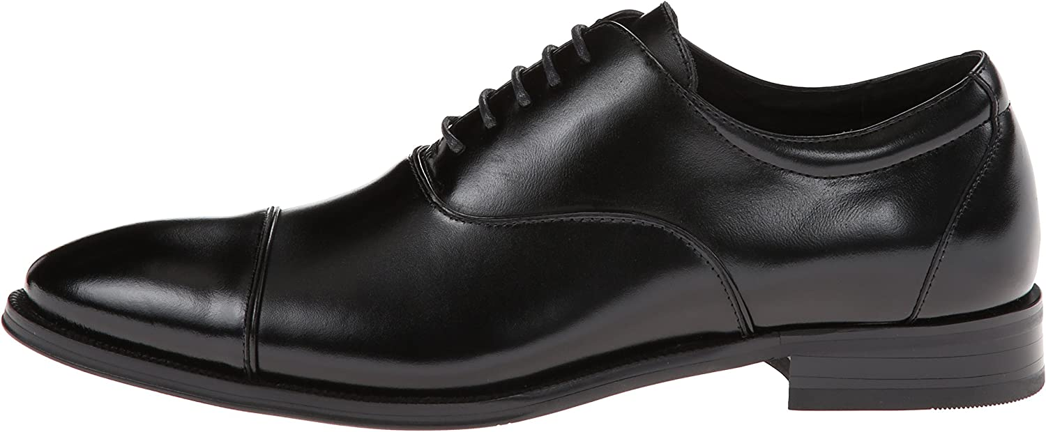 Stacy Adams Mens Kordell Cap-Toe Lace-Up Oxford