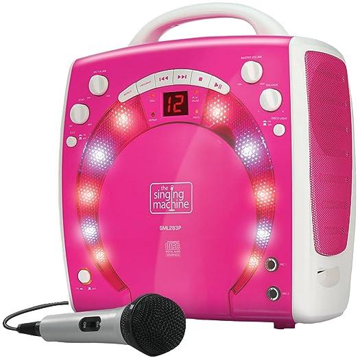 13 opinioni per Singing Machine SML283P Impianto per Karaoke Portatile con Lettore CD-G e 3 CDG