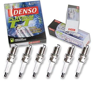 Amazon.com: 6 pcs Denso Platinum TT Spark Plugs for 2003-2008 Hyundai Tiburon 2.7L V6: Automotive