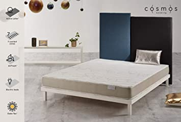 COSMOS® - COLCHÓN Sensation 90 x 190 cm - 100% Espuma DE Soporte Active Latex®- Sistema Air Fresh® - ATÉRMICO - 17 CM: Amazon.es: Hogar
