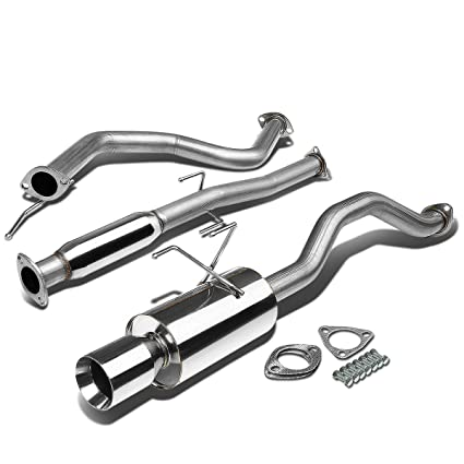 Amazon Com For 92 00 Honda Civic Eg 24dr Stainless Steel 4 Rolled