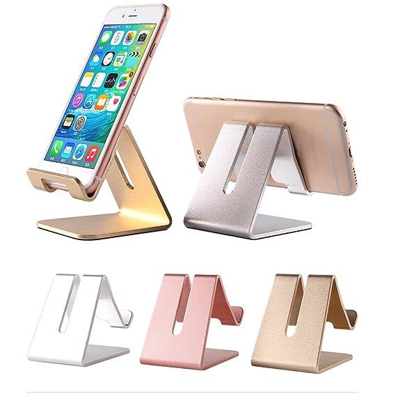 amazon com cell phone desk stand holder tobeoneer aluminum rh amazon com