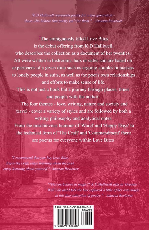Love Bites: Selected poems by K D Halliwell: K D Halliwell