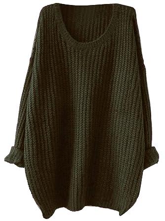 buy popular 6089e f2e02 SOLY HUX Damen Casual Drop Schulter Strickpullover ...