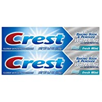 Crest Baking Soda & Peroxide Whitening Toothpaste with Tartar Protection, Fresh...