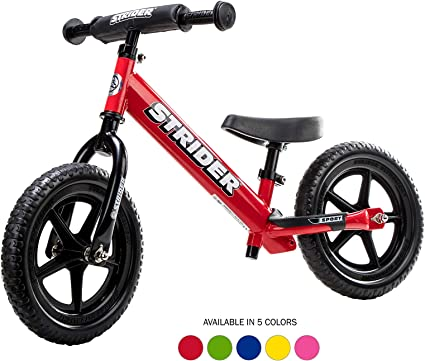 Amazon.com: Strider - 12 Sport Balance Bike, Ages 18 Months to 5 Years, Red: Grocery & Gourmet Food