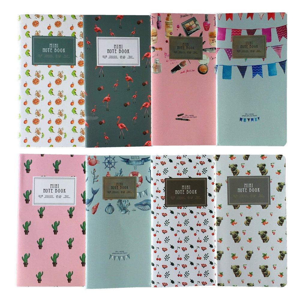 Shulaner Pocket To Do list Planner Notepad, Lista della spesa,Lista cose da fare, 6.8 * 3.5 inch, confezione da 8