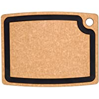 Epicurean Gourmet Series Cutting Board, 14.5-Inch by 11.25-Inch, Nutmeg/Natural