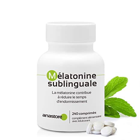 MELATONINA SUBLINGUAL | Pureza garantizada superior al 99% | 1.8 mg / 120 dosis |