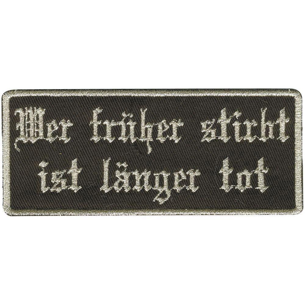 9,5 x 4 cm 04675 Patches Stick Applikation Gr Aufn/äher ca Fisch