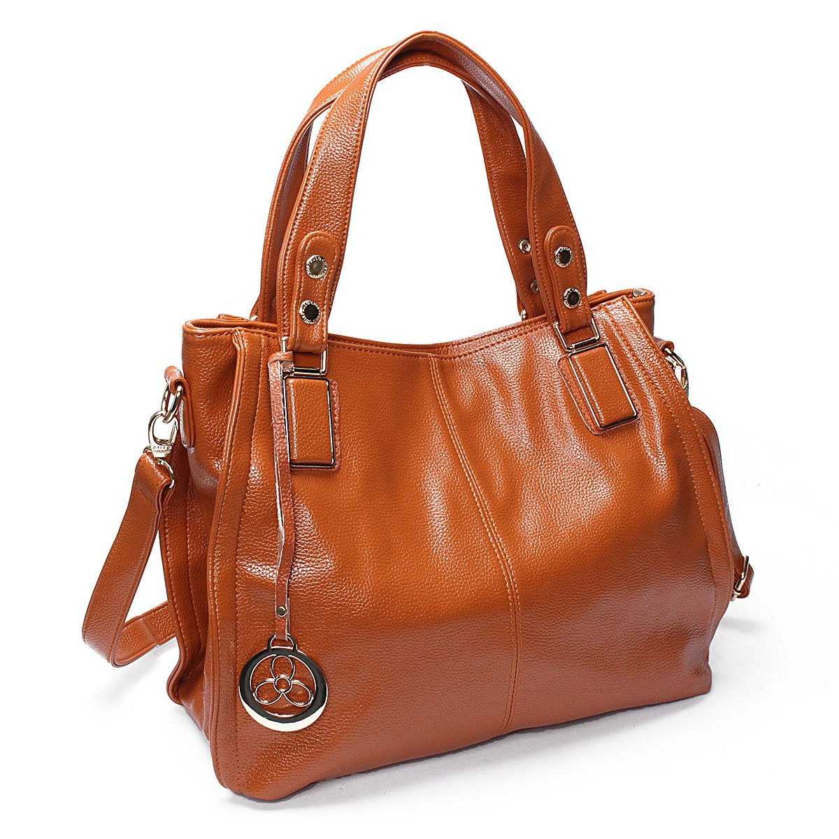 cfe619a12742 OURBAG Women Leather Handbags Fashion Top Handle Bag Cross body Shoulder  Bag for Ladies