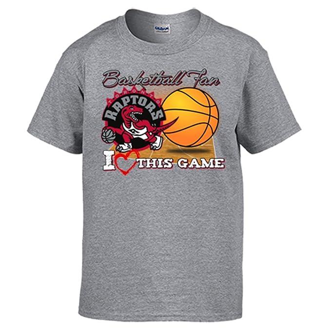 Camiseta NBA Toronto Raptors Baloncesto Basketball Fan I Love This Game: Amazon.es: Ropa y accesorios