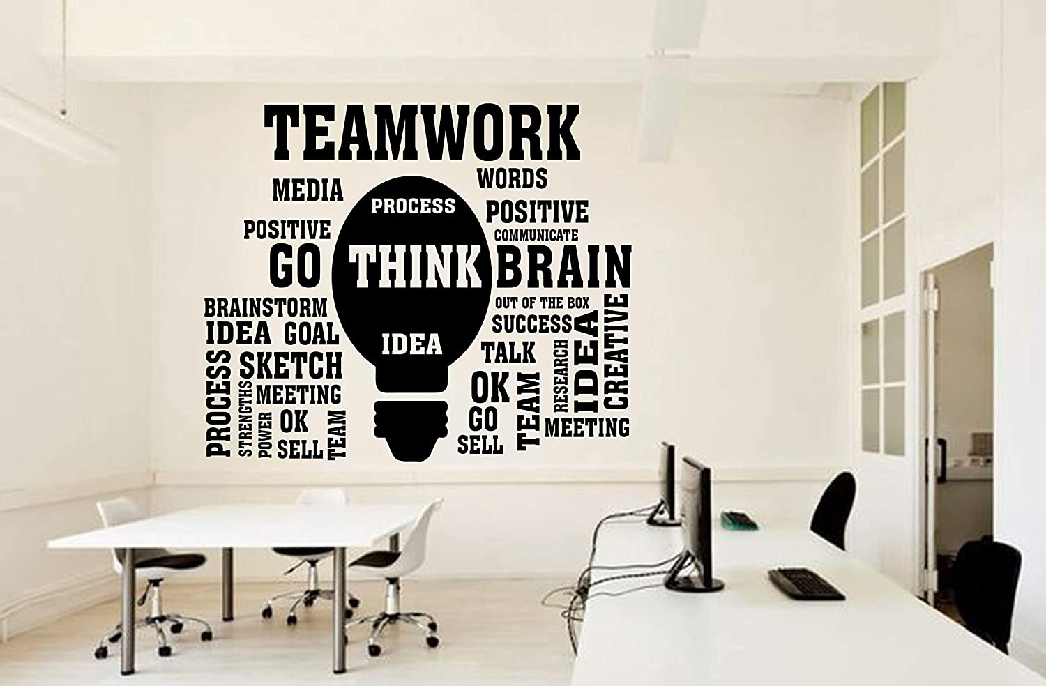 Amazon Com Social Media Map Office Wall Decal Idea Business Worker Decoration Stickers Mural Unique Gift Television Share Like Follow People 3190re Handmade
