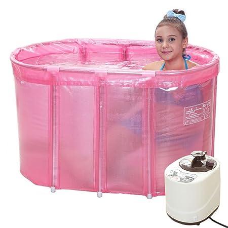 YYhh Bathtub Juego de lavadora de vapor doble para bañera y sauna ...