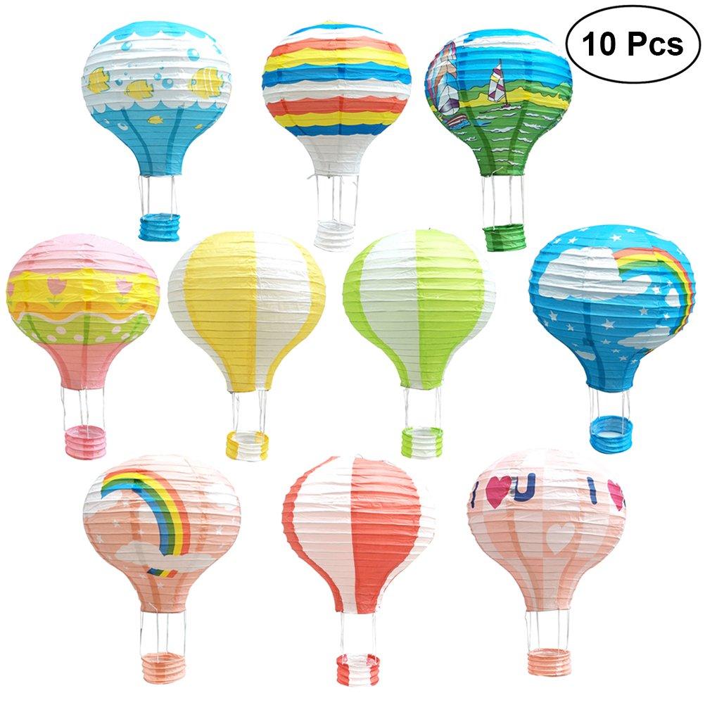 origami hot air balloon