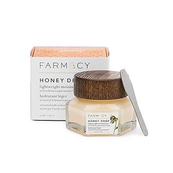 Amazon.com  Farmacy Honey Drop Lightweight Moisturizing Cream - Natural  Hydrating Face Moisturizer  Beauty 10a53a6273