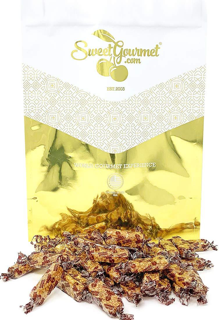 Joyva Sesame Honey Crunch - all natural, kosher candy 2 pounds by SweetGourmet