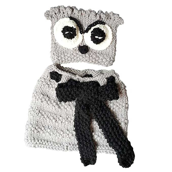 f89b0e8ff Amazon.com: VESNIBA Winter Kids Warm Panda/Squirrel/Owl Animal Hats ...