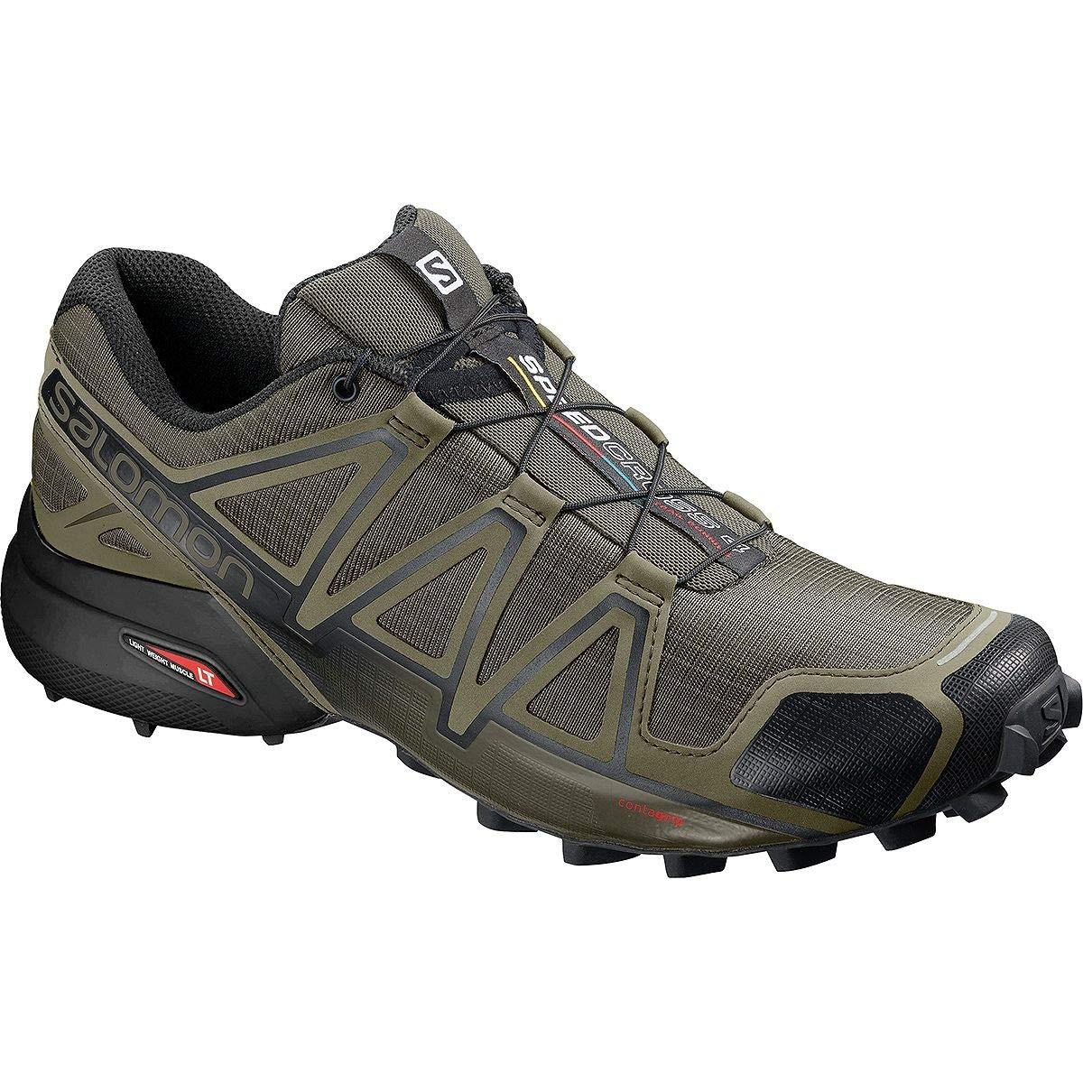 【楽天スーパーセール】 [サロモン] Speedcross メンズ 4 ランニング Speedcross 4 Wide Trail Running Shoe Running [並行輸入品] B07P2VTKVS US-11.0/UK-10.5, フットサルショップ casa paterna:034f9c30 --- stafftracking.mycarebee.com