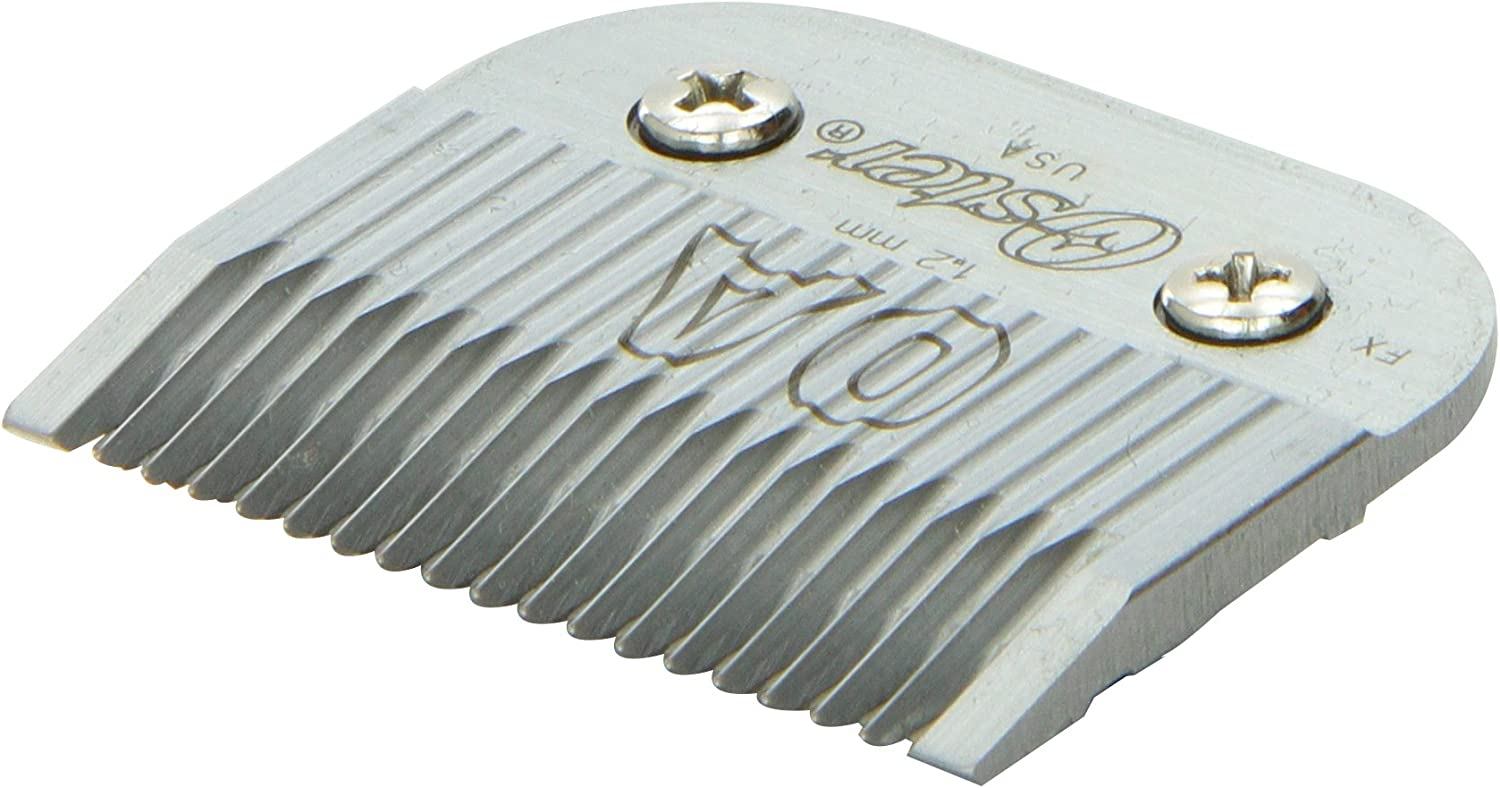 """Oster Professional Arctic Collection Clipper/Trimmer Cool Touch Replacement Blade, Size #0A 3/64"""" (1.2 mm)"""