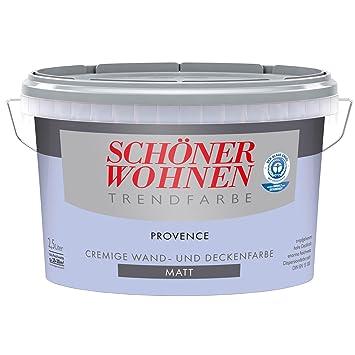 5 L Schöner Wohnen Trendfarbe Cremige Wandfarbe Provence Matt